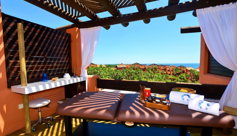Spa Novo Resort Sancti Petri: Sky Wellness Terrace